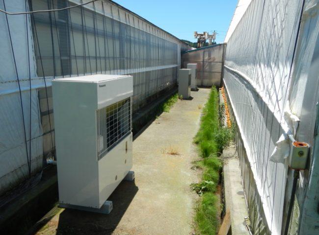 神奈川県小田原市の「村上農園」様|野菜の促成質の冷却ユニットのサイクル交換