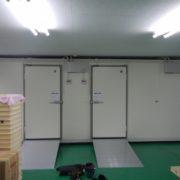 神奈川県横浜市都筑区の某製餡子所|プレハブ冷凍庫の新設工事