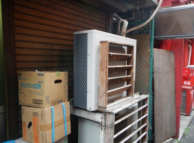 神奈川県横浜中華街の某中華料理店|プレハブ冷蔵庫のサイクル交換