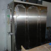 神奈川県鎌倉市の某飲食店 プレハブ冷蔵庫の新設工事