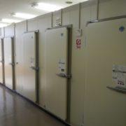 神奈川県茅ヶ崎市の某大手スーパー|プレハブ冷凍・冷蔵庫の新設工事