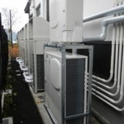 神奈川県足柄下郡箱根町の某商業施設 プレハブ冷凍・冷蔵庫の新設工事