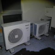 横浜市瀬谷区の某病院 プレハブ冷凍・冷蔵庫の冷却機器の入替工事