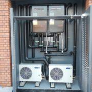 神奈川県川崎市の某私立中学校|プレハブ冷凍・冷蔵庫の新設工事 施工事例