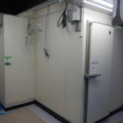 東京都江東区の某製菓店 プレハブ冷凍・冷蔵庫の新設工事