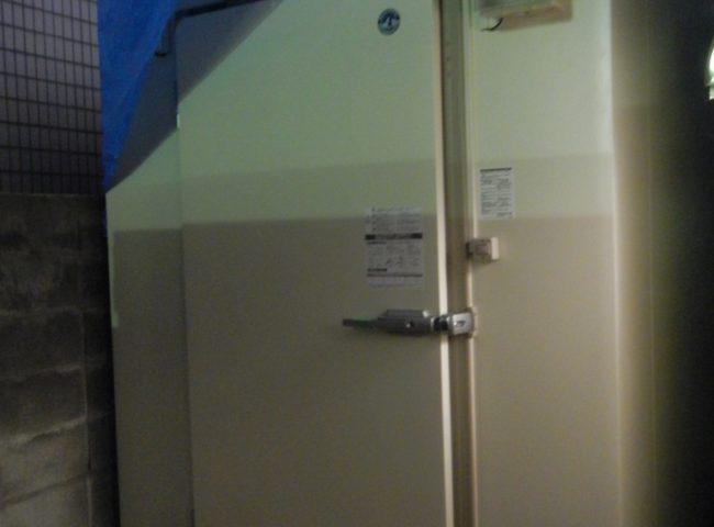 神奈川県鎌倉市大船の某居酒屋|プレハブ冷凍庫の新設工事