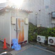 神奈川県横浜市栄区の某老人ホーム|プレハブ冷凍・冷蔵庫の新設工事