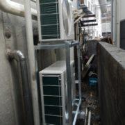 神奈川県藤沢市江の島の某水産会社|プレハブ冷凍・冷蔵庫の入れ替え工事