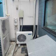 神奈川県藤沢市辻堂の某飲食店 プレハブ冷蔵庫の新設工事