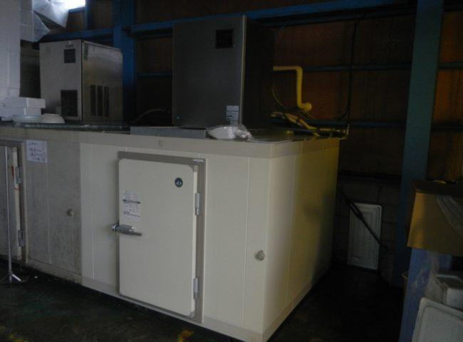 神奈川県藤沢市の某水産会社|プレハブ冷凍庫の新設工事