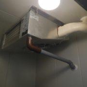 静岡県藤枝市の某魚屋さん|プレハブ冷凍・冷蔵庫、冷却ユニットのサイクル交換