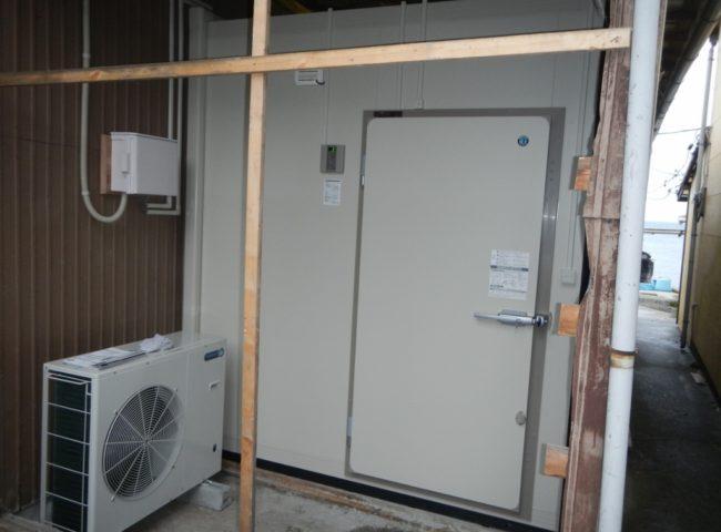 神奈川県横浜市の某水産会社|プレハブ冷凍庫の新設工事