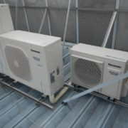神奈川県相模原市の某ラーメン屋 プレハブ冷凍・冷蔵庫の新設工事