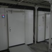 神奈川県相模原市の某食品卸問屋 プレハブ冷凍・冷蔵庫の新設工事