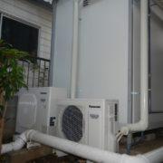 神奈川県横浜市市ヶ尾の某老人ホーム プレハブ冷凍・冷蔵庫を入れ替え工事