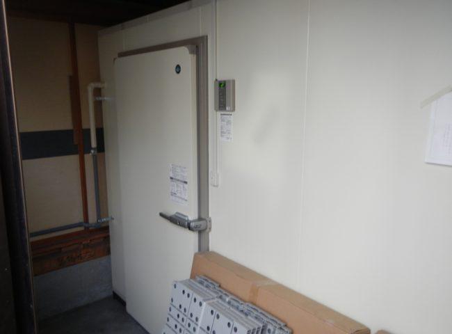 神奈川県小田原市の某業務用の八百屋|プレハブ冷蔵庫の新設工事
