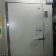 プレハブ冷蔵庫の入れ替え工事