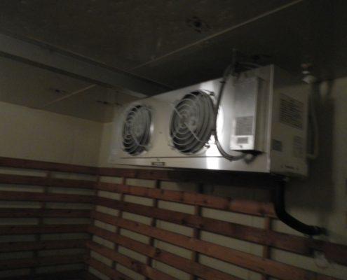 プレハブ冷凍庫・冷却機器の入替工事