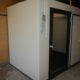 プレハブ冷蔵庫の移設工事
