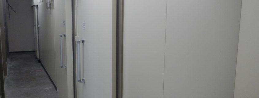 プレハブ冷凍・冷蔵庫の新設工事