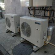 横浜市南区の某外食チェーンのセントラルキッチン|プレハブ冷凍・冷蔵庫の新設工事