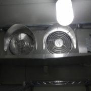プレハブ冷凍庫の冷却機器の入れ替え工事