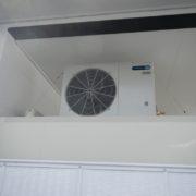神奈川県小田原市の某回転ずしチェーン|プレハブ冷蔵庫の新設工事