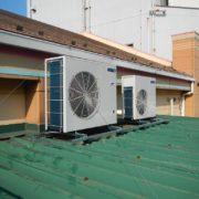 業務用プレハブ冷凍庫の冷却機器の入れ替え工事|相模原市中央区の某飲食チェーン店にて施工