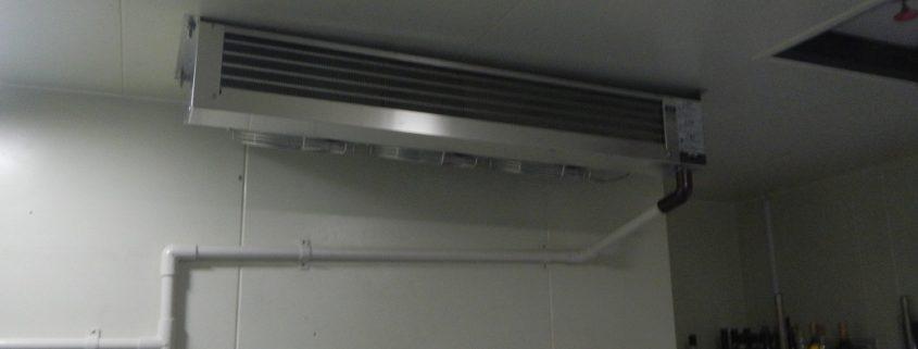 プレハブ冷凍庫の冷却機器