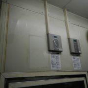 業務用プレハブ冷凍庫の冷却機器の入れ替え工事|相模原市中央区の某大手飲食チェーン店にて施工