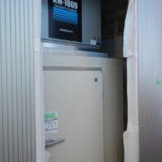 業務用のプレハブ型大型製氷機の新設工事