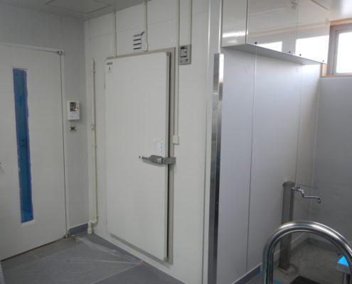 【日軽製】業務用プレハブ冷凍庫の新設工事