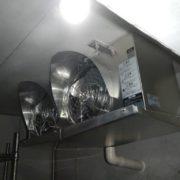 プレハブ冷凍・冷蔵庫の冷却ユニット