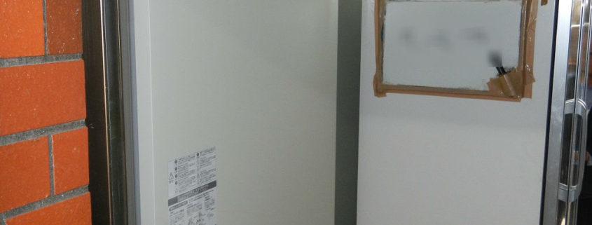 プレハブ冷蔵庫のサイクル交換工事