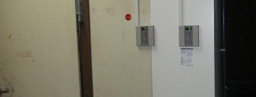 業務用プレハブ冷蔵庫の補修工事