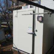 業務用プレハブ冷蔵庫の新設工事