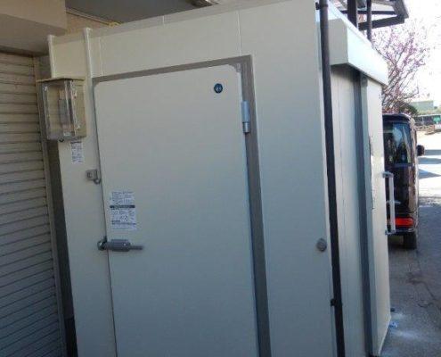 業務用プレハブ冷凍・冷蔵庫の入れ替え工事