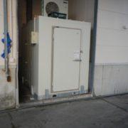 業務用プレハブ冷凍・冷蔵庫の入れ替え工事|神奈川県平塚市の某水産会社にて施工