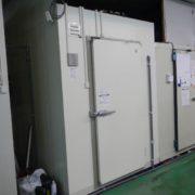 プレハブ冷凍・冷蔵庫の設置工事