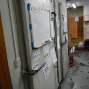 業務用プレハブ冷凍・冷蔵庫の移設工事
