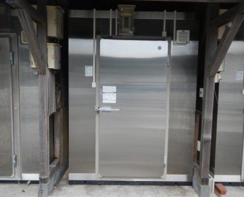 業務用プレハブ冷凍・冷蔵庫の新設工事